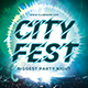 City Fest Party Flyer - GraphicRiver Item for Sale