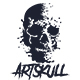 Art Skull T-Shirt - GraphicRiver Item for Sale