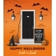 House Decorated for the Halloween Holiday - GraphicRiver Item for Sale
