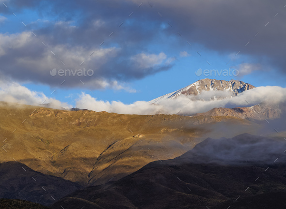 Andes in Mendoza Province, Argentina - Stock Photo - Images