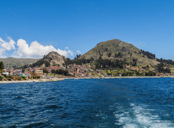 Titicaca Lake in Bolivia - Stock Photo - Images