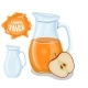 Glass Jug with Natural Juice - GraphicRiver Item for Sale