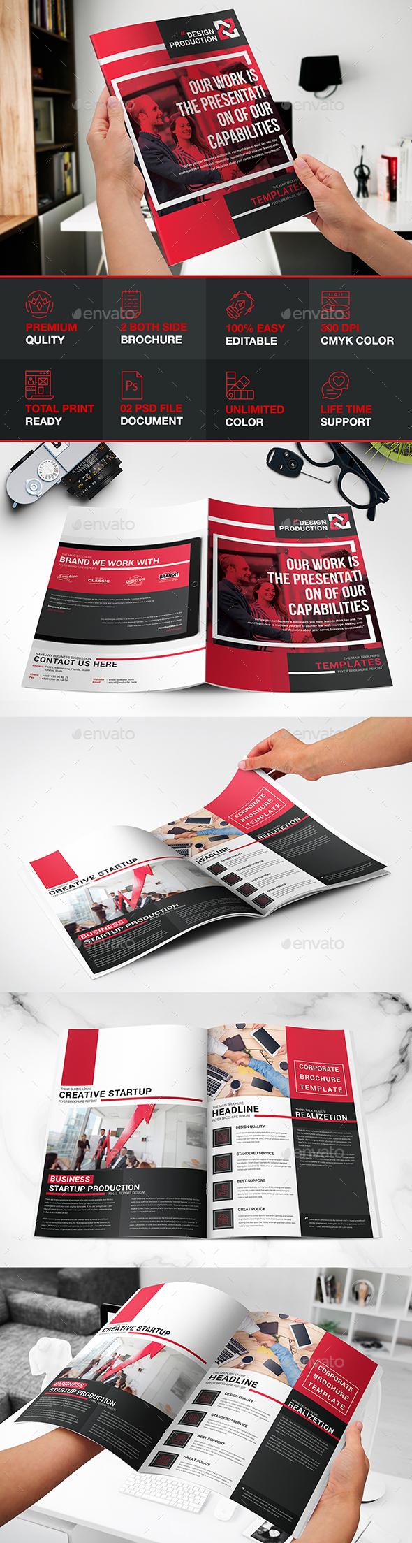 Redaram Bi-fold Brochure - Brochures Print Templates