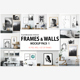 Scandinavian Interior Frames & Walls Mockup Pack -1 - GraphicRiver Item for Sale