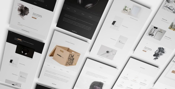 Arrigo – A Contemporary HTML5 Template for Creatives - Portfolio Creative