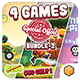 Mega Bundle 4 Games Part 2 (Android Studio+BBDOC+Assets) - CodeCanyon Item for Sale