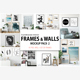 Scandinavian Interior Frames & Walls Mockup Pack - 2 - GraphicRiver Item for Sale