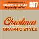 3D Christmast Glamour Text/Graphic Style - GraphicRiver Item for Sale