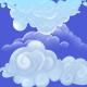 Hand Painted Cloud - GraphicRiver Item for Sale