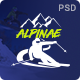 Alpinae - Winter Sports Shop PSD Template - ThemeForest Item for Sale