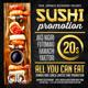 Sushi Flyer - GraphicRiver Item for Sale