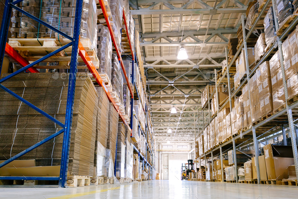 Warehouse logistics is important - Stock Photo - Images