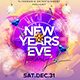 New Years Eve Flyer Template Vol.4 - GraphicRiver Item for Sale