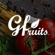 GFruits – Organic Food/Fruit/Vegetables eCommerce PSD Template - ThemeForest Item for Sale