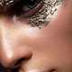 Fashion art make up woman face. Close up - PhotoDune Item for Sale