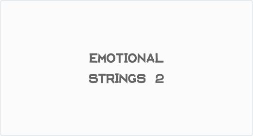 Emotional Strings 2