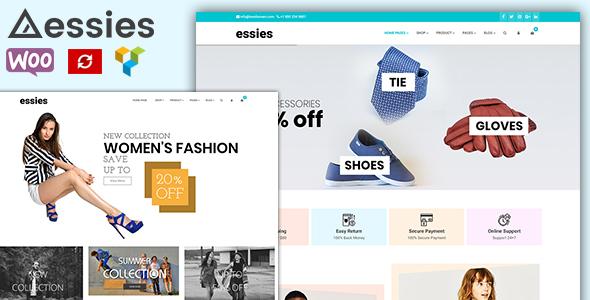 Essies - Modern Fashion WooCommerce Theme - WooCommerce eCommerce