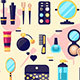 Set of Cosmetics Beauty and Makeup Icons - GraphicRiver Item for Sale