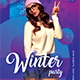 Winter Party Flyer Templates - GraphicRiver Item for Sale