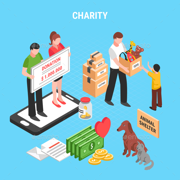 Charity Isometric Composition - Miscellaneous Conceptual