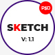 Sketch | Multi-Purpose PSD Template - ThemeForest Item for Sale