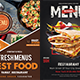 Restaurant Menu Bundle - GraphicRiver Item for Sale