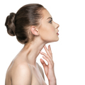 Beautiful woman cares for the skin neck - PhotoDune Item for Sale