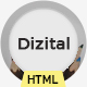 Dizital - Easy Digital Downloads HTML Template - ThemeForest Item for Sale