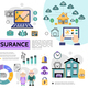 Flat Insurance Infographic Concept - GraphicRiver Item for Sale