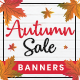 Autumn Sale Banner Set - GraphicRiver Item for Sale
