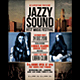 Jazz Music Event Flyer / Poster - GraphicRiver Item for Sale