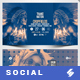 Electronic Music Party 04 - Facebook Event Cover Templates - GraphicRiver Item for Sale