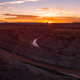 Beautiful Sunset over the Colorado River Utah East and West Loop - PhotoDune Item for Sale