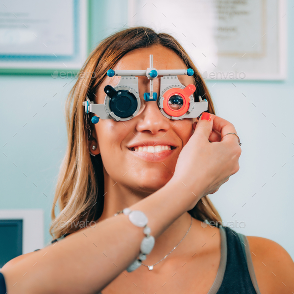Ophthalmology. Visual Chart - Stock Photo - Images