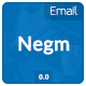 Email Newsletter - Negm - GraphicRiver Item for Sale