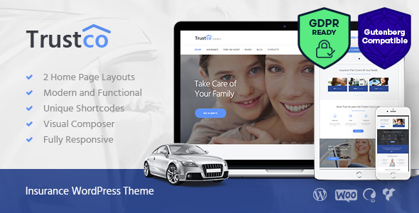Insurance Agency & Business WordPress Theme