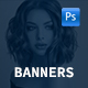Mobile Banners - GraphicRiver Item for Sale