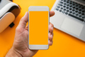 Mock up smartphone screen - PhotoDune Item for Sale