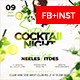 Cocktail Night Flyer - GraphicRiver Item for Sale