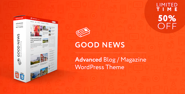 GoodNews - Blog & Magazine WordPress Theme