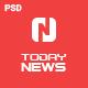 TodayNews - News Blog &  Magazine PSD Template - ThemeForest Item for Sale