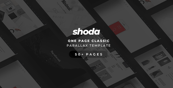 Shoda — Classic One Page Parallax Free Download | Nulled