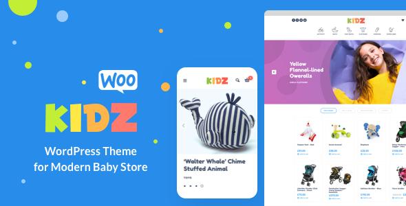 c3df523cd KIDZ - Baby Shop & Kids Store WordPress WooCommerce Theme