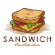 Sandwich Shop Logo Template - GraphicRiver Item for Sale