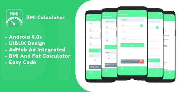 BMI Calculator - CodeCanyon Item for Sale