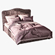 Bed Melany - 3DOcean Item for Sale