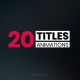20 Simple Titles - VideoHive Item for Sale