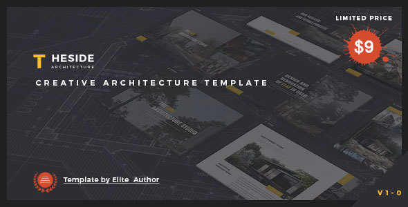 TheSide - Creative  Responsive Architecture  Template Free Download | Nulled