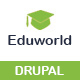 Free Download Eduworld-Education, Courses Online Drupal 8.6 Theme Nulled