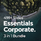 3 in 1 Essentials Corporate Bundle Google Slide Template - GraphicRiver Item for Sale